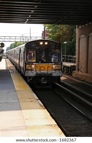 Commuter Train - 2 - stock photo