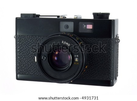 Compact camera for 35mm film