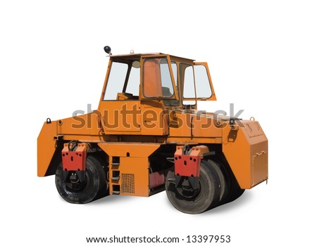 compactor. Isolated