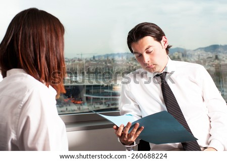 company hiring - stock photo