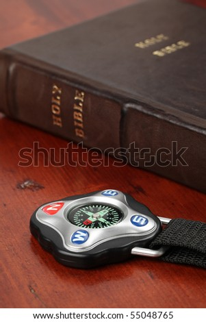 Compass and the Holy Bible
