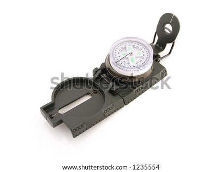 Compass - isolated - stock photo