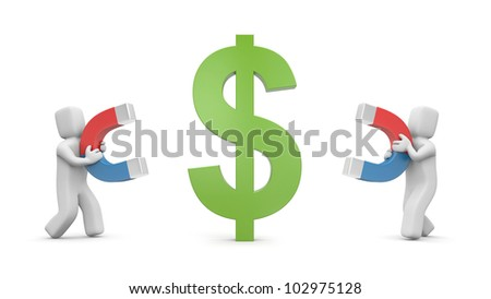 Competition - stock photo