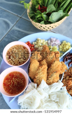 Complements stock photos royalty free images vectors for Side dishes for fried fish