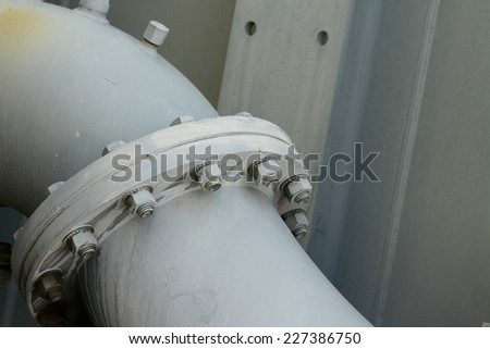 Components of the transformer - stock photo
