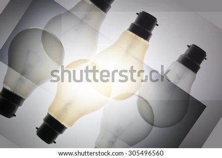 Composite of Light Bulbs