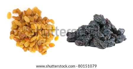 Composition from dried fruits on a light background - stock photo