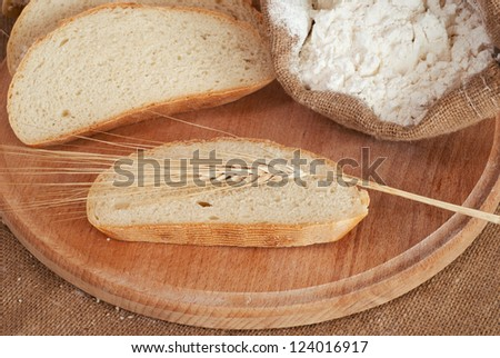 Composition of bread & weat