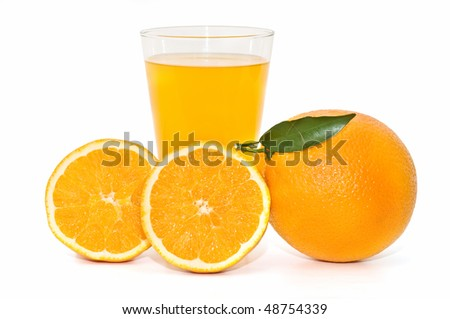 composition with oranges