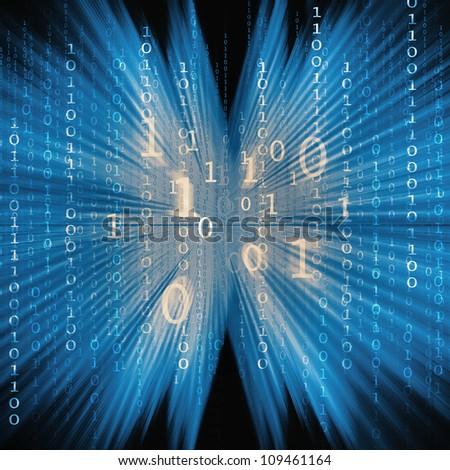 computer background - stock photo