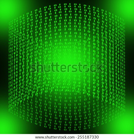 Computer background - stock photo