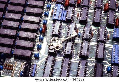 Landmark gear slots