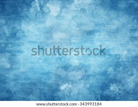 Computer generated abstract artistic background in shades of blue. - stock photo