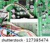 computer hardware - stock photo