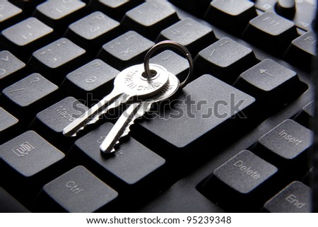 Computer keyboard and key