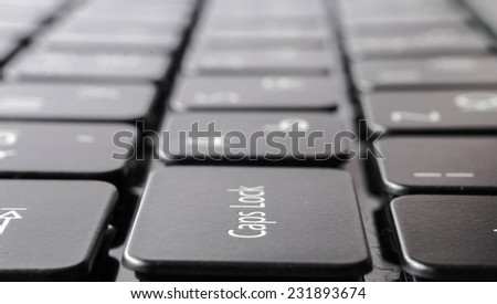 computer keyboard close-up background