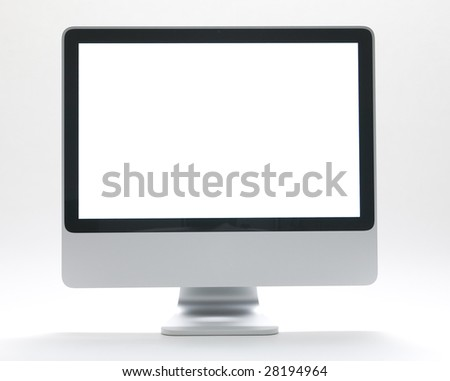 Computer Monitor - stock photo