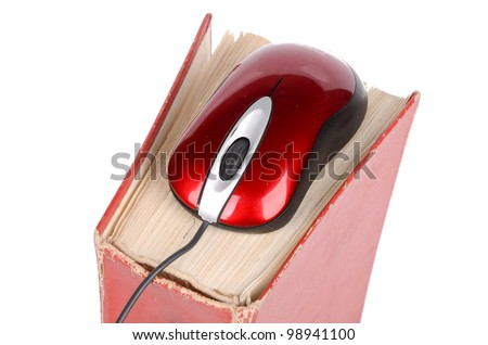 Computer mouse and dictionary