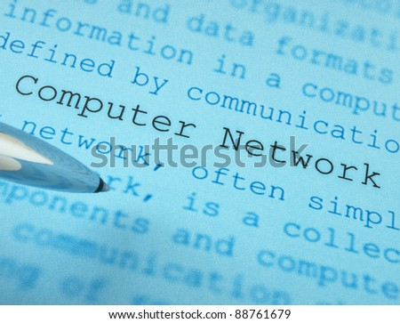 Computer network definition