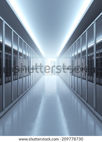 computer networking concept - stock photo