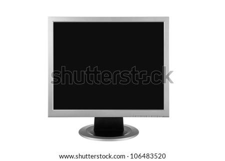 Computer Screen - Monitor - stock photo
