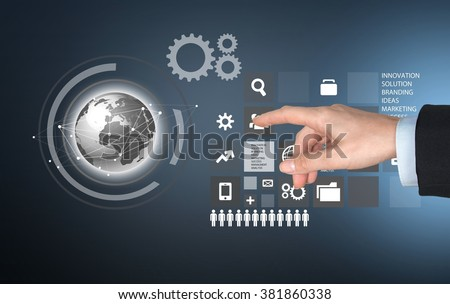 Computer Software. - stock photo