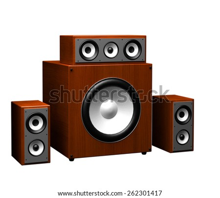 computer speakers on a white background