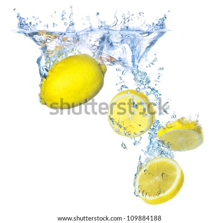 Concept and idea with lemons. Tasty and healthy food