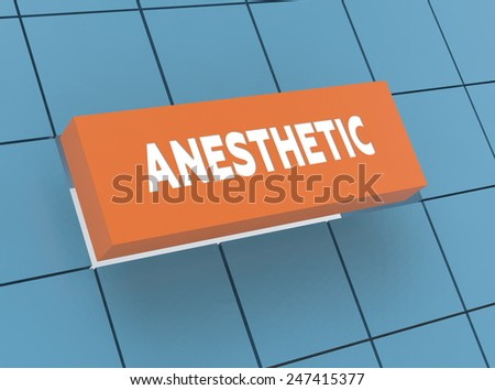 Concept ANESTHETIC