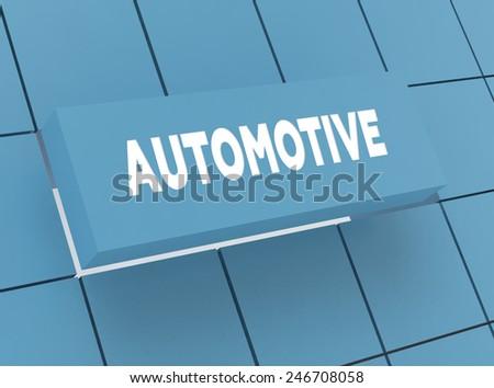 Concept AUTOMOTIVE - stock photo