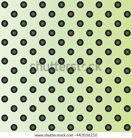 Concept conceptual green abstract metal stainless steel aluminum perforated pattern texture mesh background as metaphor to industrial, abstract, technology, grid, silver, grate, spot, grille surface - stock photo