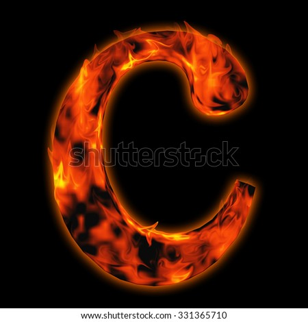 Fire font stock images royalty free images vectors for Industrial nightmare pictures
