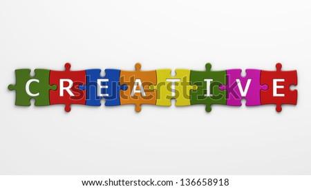 concept creative - stock photo