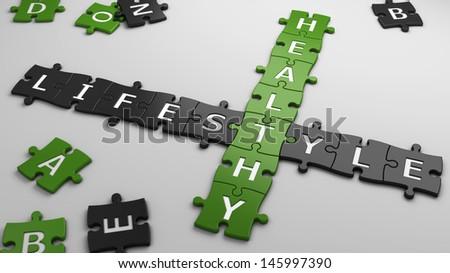 concept healthy lifestyle - stock photo