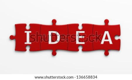 concept idea - stock photo