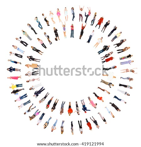 Concept Image Corporate Culture  - stock photo