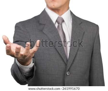 Concept. insurance in crystal ball, Life insurance concept - stock photo