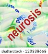 concept neurosis - stock photo