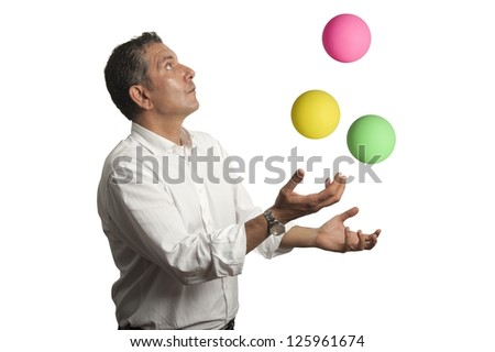 Concept of ability in the business - stock photo