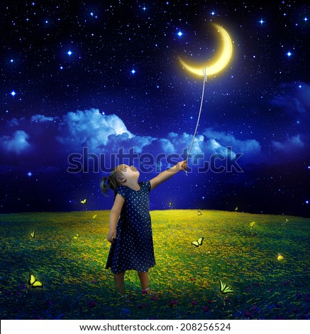 concept of ambition and dreams realization  - stock photo