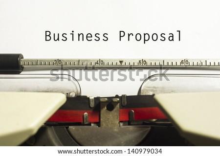 business proposals