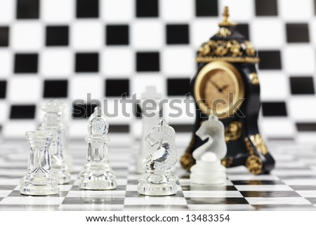 Concept of business strategy - stock photo