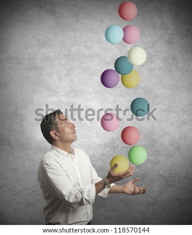 Concept of difficulty in business - stock photo