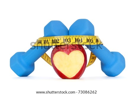 concept of healthy lifestyle - stock photo