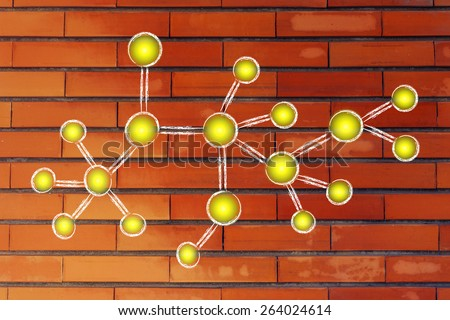 concept of networking and social media content sharing - stock photo