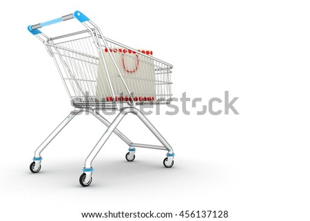 concept of purchase ( 3D rendering