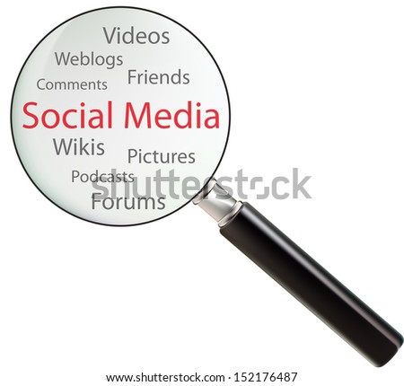Concept of social media consists of videos, pictures, weblogs, pod casts, wikis, forums, friends and comments