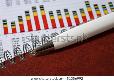concept of tradition office business - stock photo