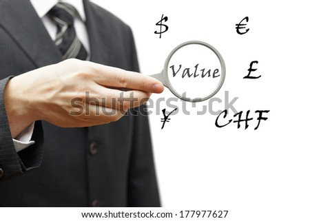 Concept of value currencies