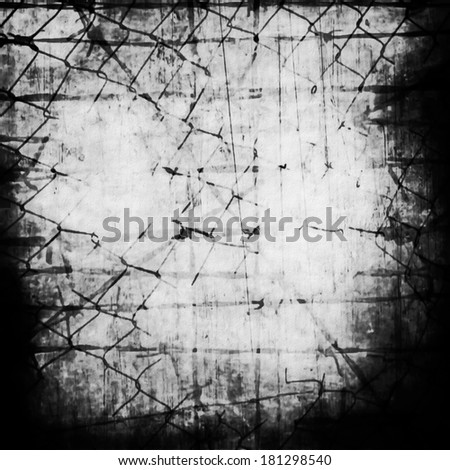 concept old grunge rusty metal security barbed wire fence - stock photo